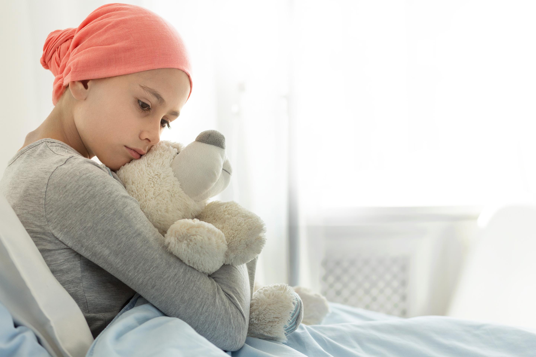 Krankes Kind in Trauer